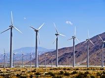 Generatori eolici in America Fotografia Stock Libera da Diritti