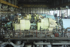 generatorn shoppar Arkivbild