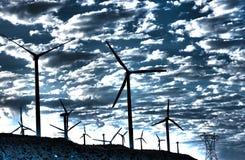 generatorPalm Spring wind Arkivfoto