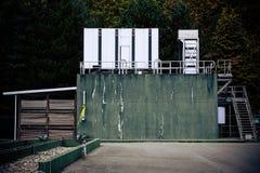 Generatorstation Arkivbild