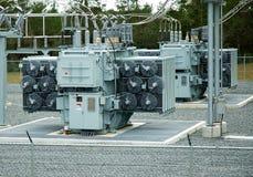 generatorström Arkivfoto