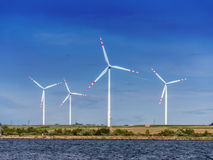 generatorów Kansas władzy stan usa wiatr Zdjęcia Royalty Free