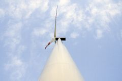 generatorwind för 2 energi Arkivbild