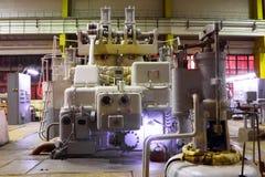 generatory stacja elektryczna Zdjęcia Stock
