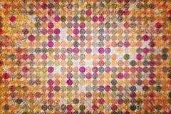 Generatywna wielokrotność kształtuje piksel mozaikę dla tapety, tekstury lub tła projekta, Wzór, element, kropki & kwadrat, textu Obraz Stock