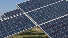 Generazione del combustibile dell'energia rinnovabile di Eco da luce solare Comitato solare archivi video