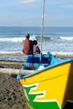 Generazione del pescatore Immagine Stock Libera da Diritti