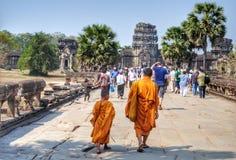 Generazione di monaci fotografia stock