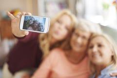 Generazione tre di donne Fotografie Stock