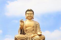 Genere di Buddha e del cielo Fotografie Stock Libere da Diritti