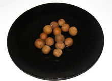 Genere di dimocarpus longan della frutta Fotografia Stock