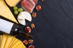 Genere differente di formaggio Immagine Stock Libera da Diritti
