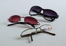 Genere differente di occhiali Fotografie Stock Libere da Diritti