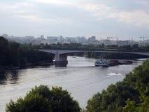 Genere sul fiume Fotografie Stock