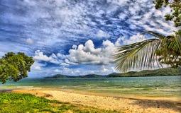 Genere sull'oceano dal litorale Fotografie Stock