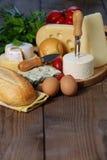 Generi di formaggio Immagini Stock