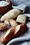 Generi di pane fotografie stock libere da diritti
