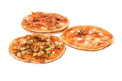 Generi di pizza Fotografia Stock Libera da Diritti