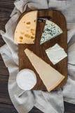 Generi differenti di formaggio Immagini Stock Libere da Diritti