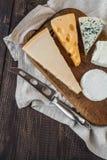 Generi differenti di formaggio Fotografie Stock