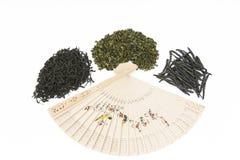 Generi differenti di tè cinese Fotografie Stock Libere da Diritti