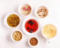 Generi unici di tè Immagini Stock