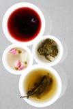 Generi unici di tè Fotografie Stock