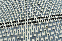 Generic abstract of modern office facade Royalty Free Stock Images