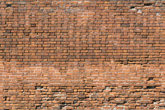 Generic abstract of old red brick wall Stock Images