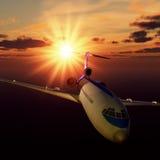 Generic Airliner Stock Photo