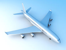 Generic Airplane Royalty Free Stock Photography