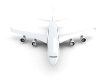 Generic Airplane Royalty Free Stock Photos