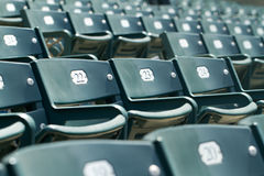 Stadium Seating Angled Royalty Free Stock Images