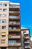 Generic apartment building Stock Photo