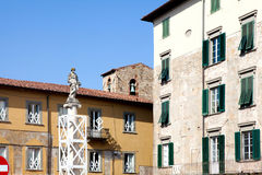 Generic architecture Pisa, Italy Royalty Free Stock Photography