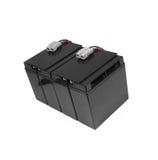 Generic black car battery Stock Images