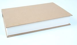 Generic book 4. Isolated image of an ordinary book Stock Photo