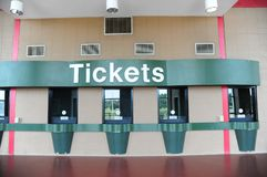 Generic Box office ticket counter Stock Photo