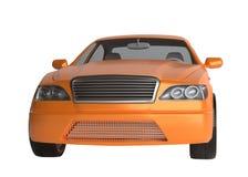 Generic brandless sports car Royalty Free Stock Image