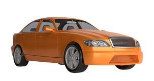 Generic brandless sports car Stock Photo