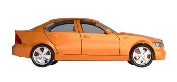 Generic brandless sports car Stock Photos