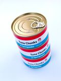 Generic Canned Tuna Royalty Free Stock Images