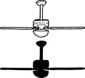 Generic Ceiling Fan Royalty Free Stock Image