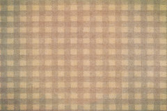 Generic checked Gingham pattern, vintage tones Stock Photos