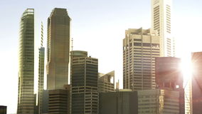 Generic city stock video footage