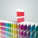 Generic color swatches Stock Photo