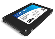 128GB solid state drive (SSD) Stock Images