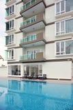 Generic Condominium outdoor Royalty Free Stock Photos