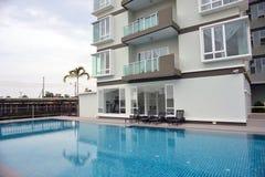 Generic Condominium outdoor Stock Photo