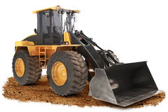 Generic construction bulldozer Stock Images
